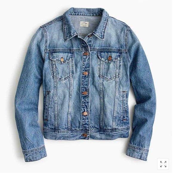 Jcrew Classic Denim Jacket